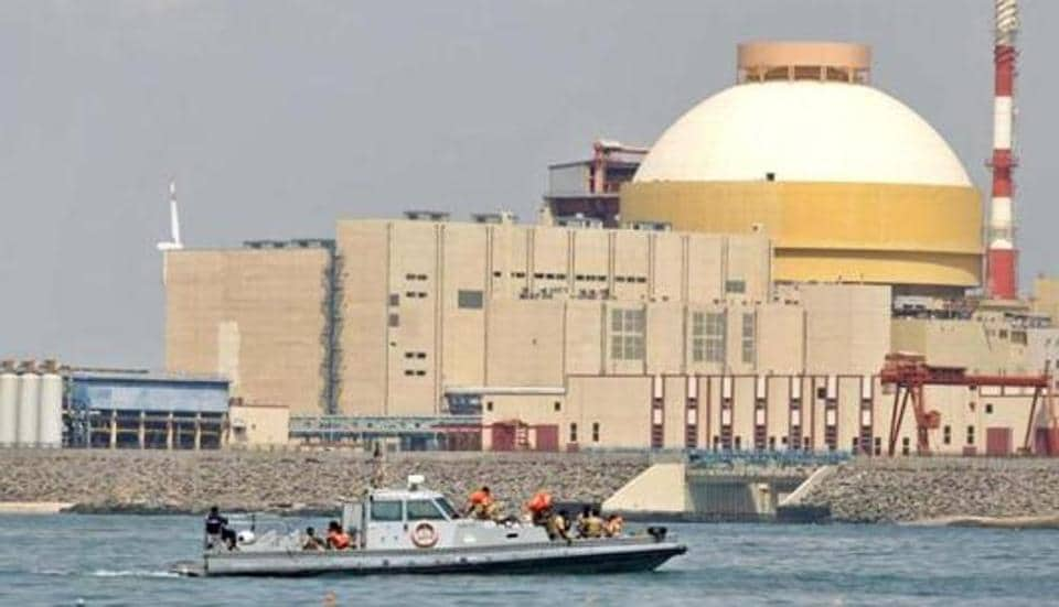 The Kudankulam nuclear power project in Tamil Nadu.