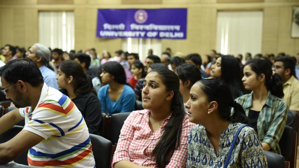 DU admissions,undergraduate courses in Delhi,study in Delhi