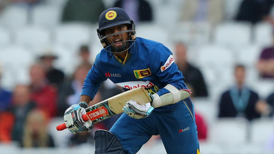 Kusal Mendis slammed an attacking 74 as Sri Lanka bounced back from their shock loss in their first match against Scotland to register a thumping nine-wicket win.