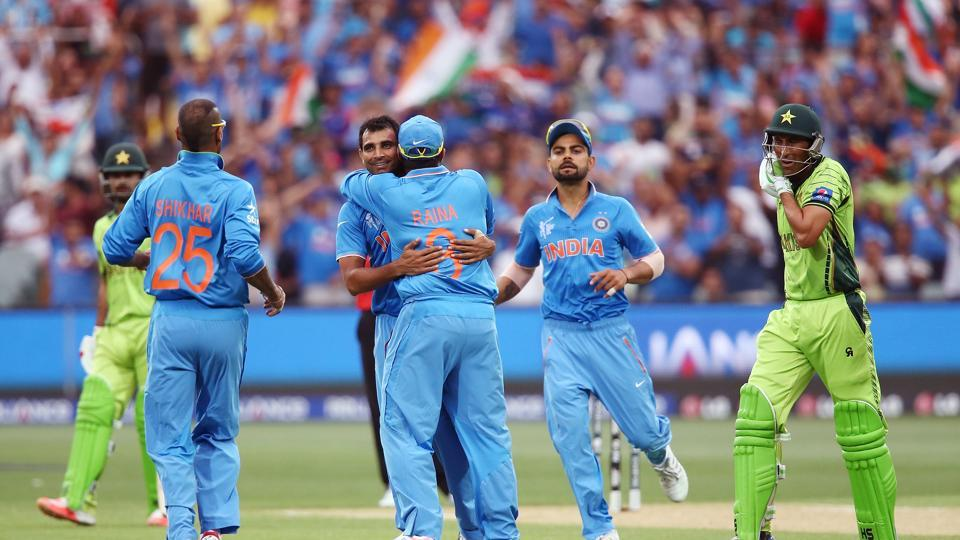 India have squared off against Pakistan three times in the ICCChampions Trophy, with Pakistan having won two matches.