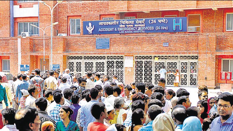 Delhi hospitals,Lok Nayak,Ventilators