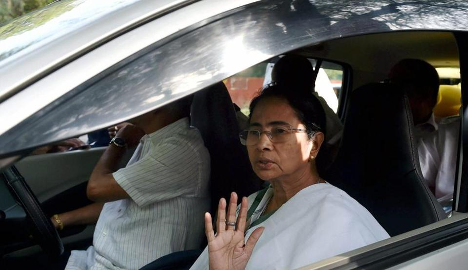 """Referring to a Bengali daily, a visibly annoyed Trinamool Congress supremo said here: """"First ask your people (journalists) to behave properly. Tell them not to do politics."""""""