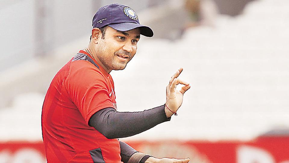 Virender Sehwag is known for his satirical comments on Twitter.