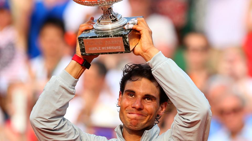 Rafael Nadal has won the French Open nine times, including five consecutive times from 2010 to 2014.