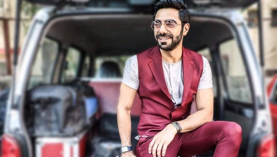 A well-known radio jockey and sports anchor, Chandigarh lad Aparshakti Khurana is all set to make waves as an actor as well. (HT Photo)