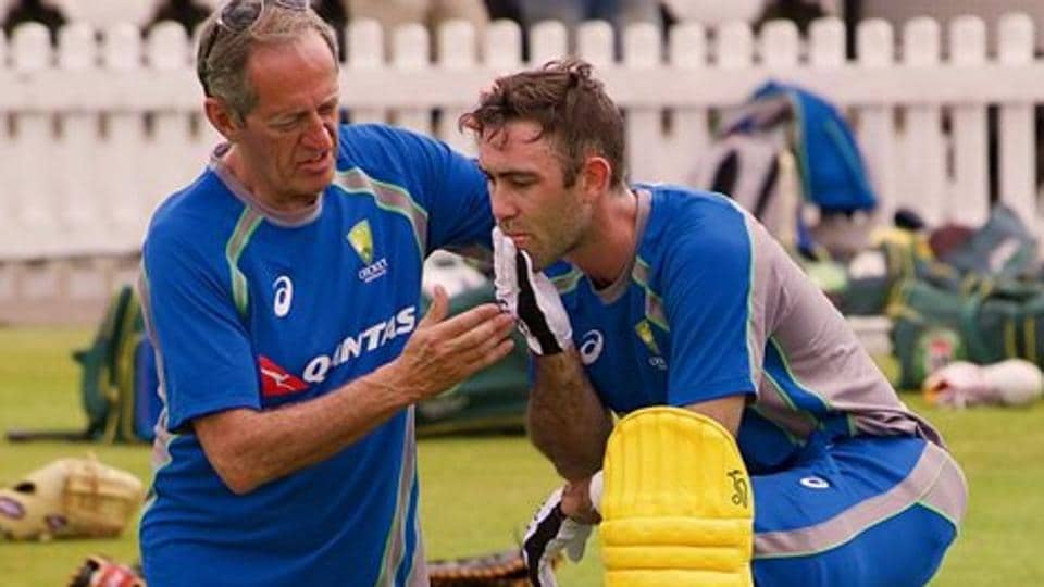 Glenn Maxwell was declared fit after he suffered a hit to his helmet during the ICC Champions Trophy practice.