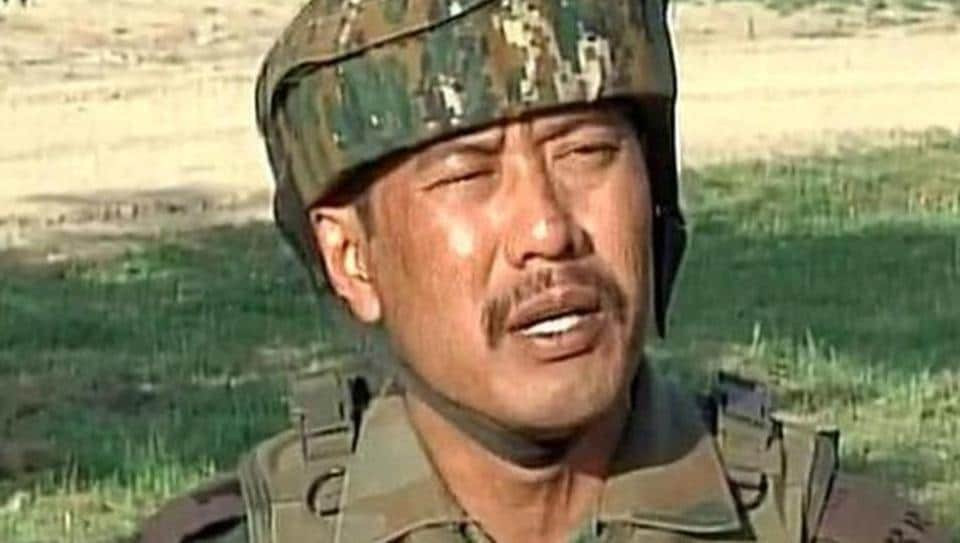Major Nitin Leetul Gogoi is under investigation for tying a Kashmiri man to a military jeep's bonnet.