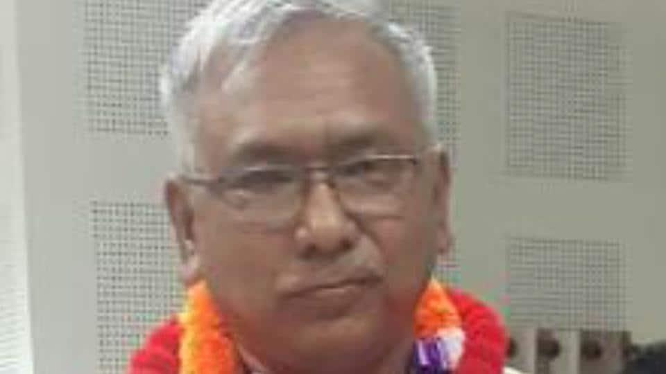 Manipur BJPpresident Kshetrimayum Bhabananda Singh.