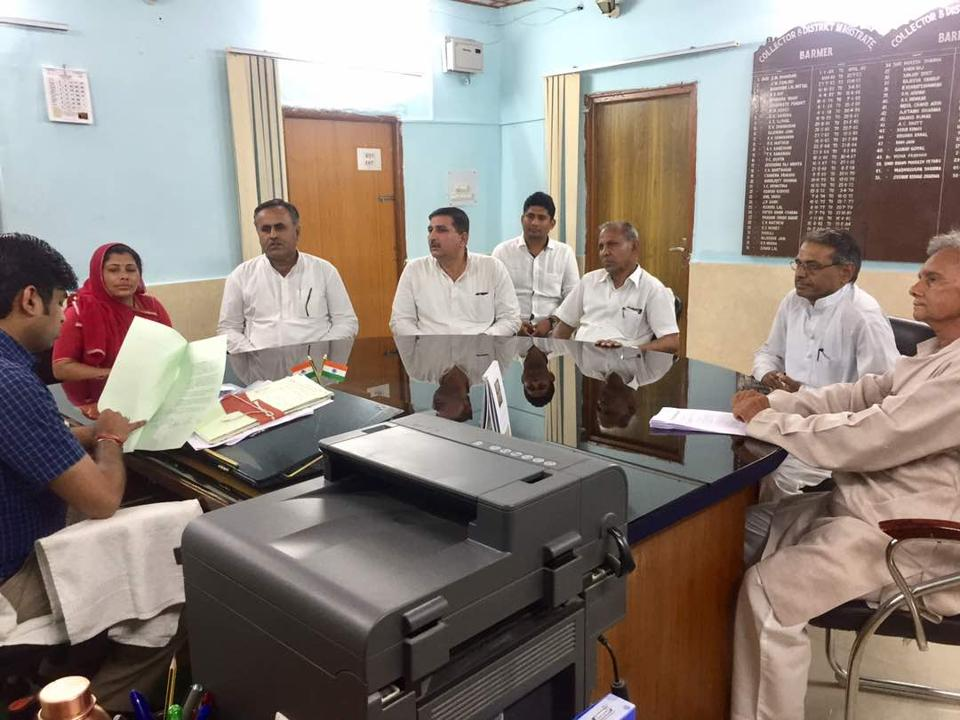 Rajasthan news,Congress,Barmer