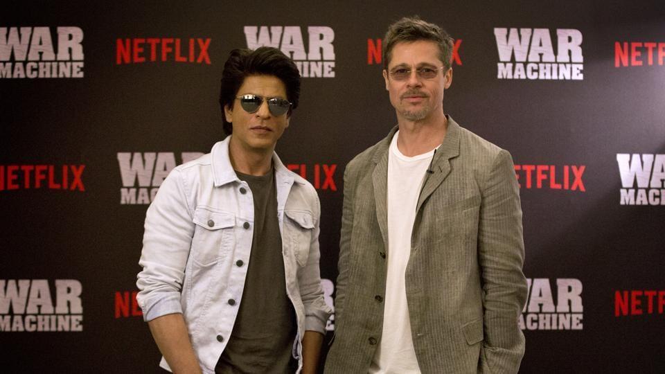 Brad Pitt,Shah Rukh Khan,Brad Pitt Shah Rukh Khan