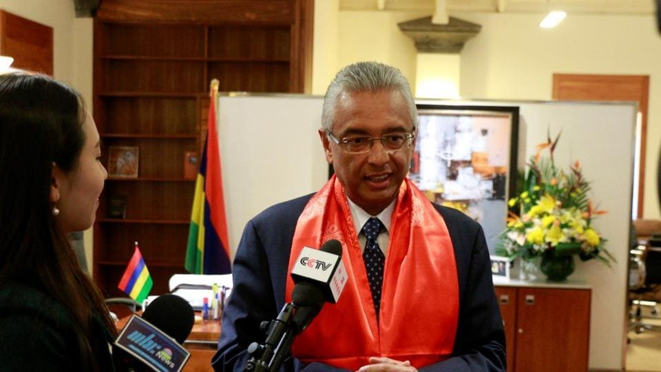 Mauritian prime minister to visit india tomorrow to meet - Prime minister of india office address ...
