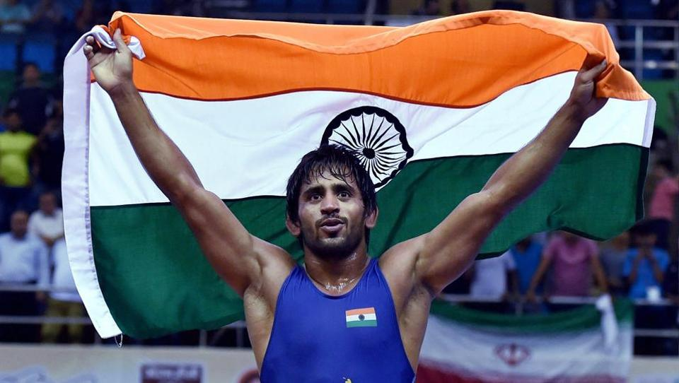At 23, Bajrang Punia has emerged as one of the finest wrestler in the country. He won the gold medal in the Asian Championship held in New Delhi recently. (PTI Photo)