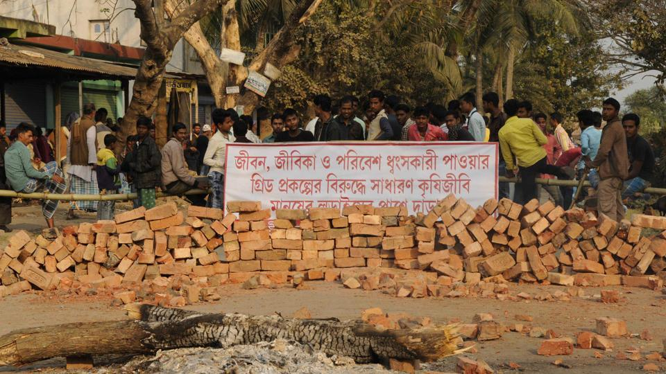 Bhangar first grabbed headlines last year after violent protests broke out against the power project over health concerns.