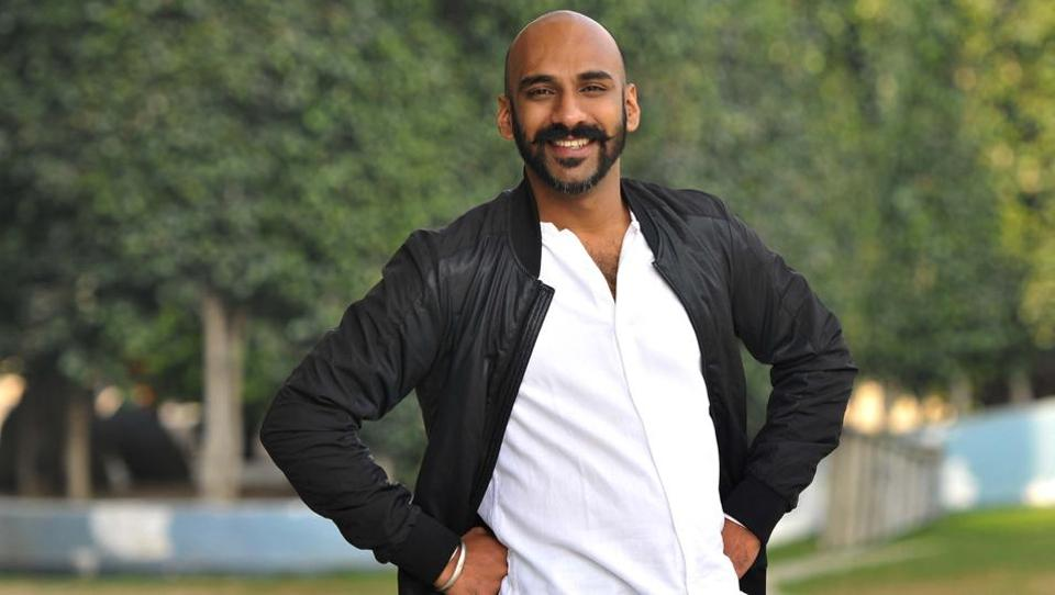 One of the top 10 YouTube stars, Sahil Khattar became Chandigarh's leading radio jockey when he was all of 17, with his programme Love Guru. (HT Photo)
