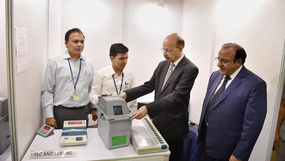 Electronic voting machine,Aam Aadmi Party,Election Commission