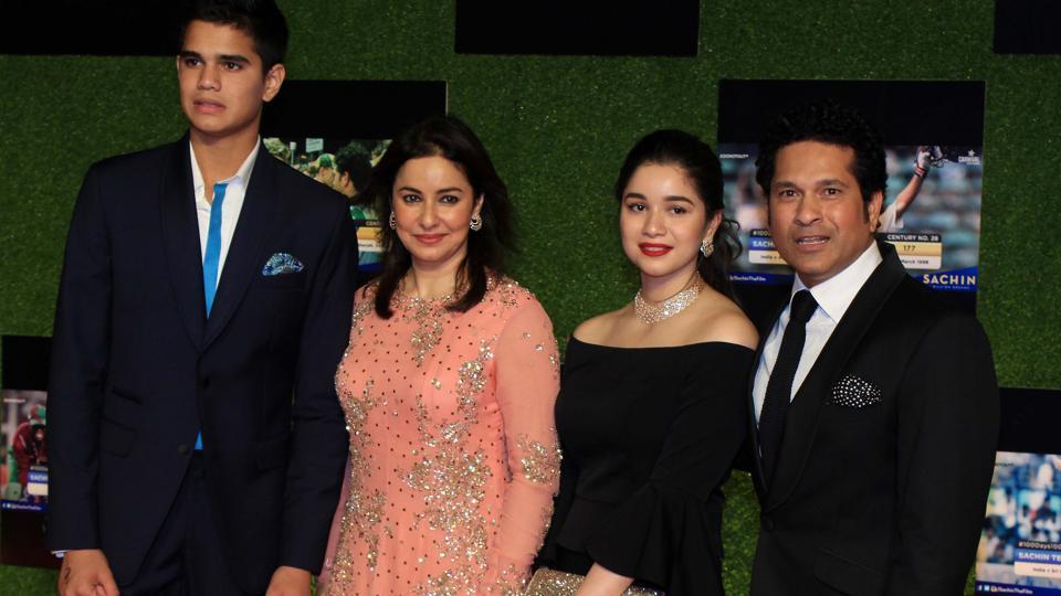 Sachin Tendulkar daughter and family