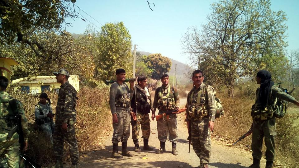 About 50 Maoists ambushed a vehicle carrying CRPF jawans killing two jawans and injuring 10 others in 2014 in Bihar.