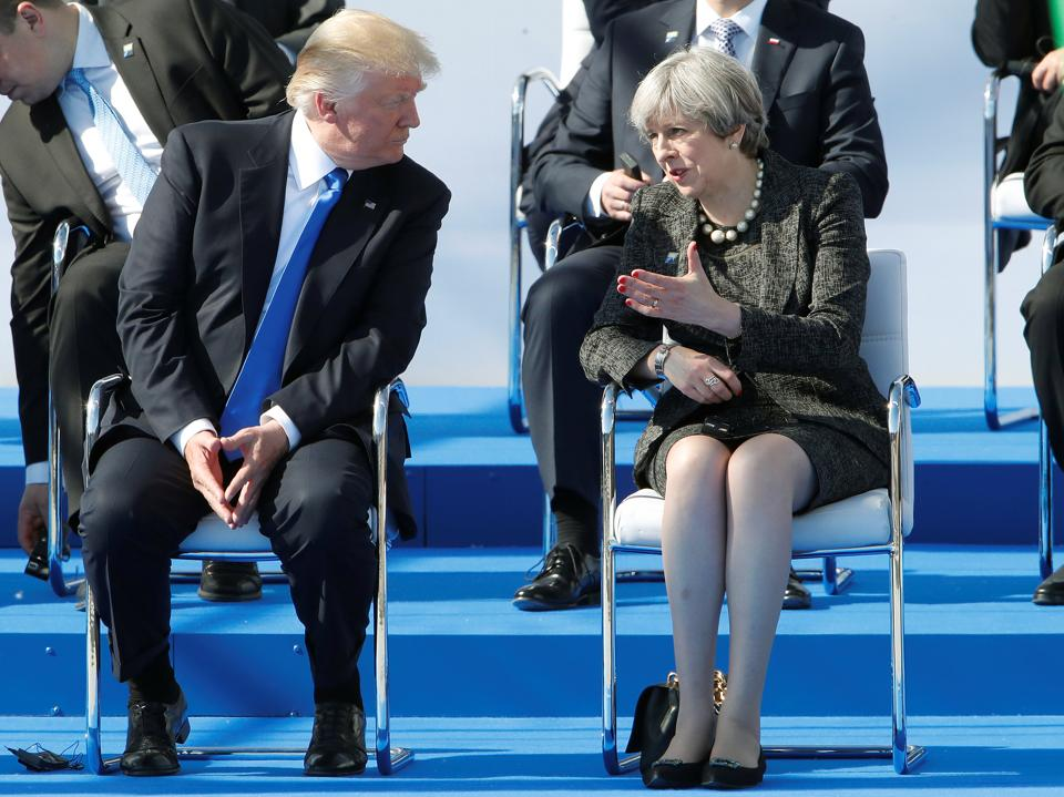 Manchester terror attack,Prime Minister Theresa May,President Donald Trump