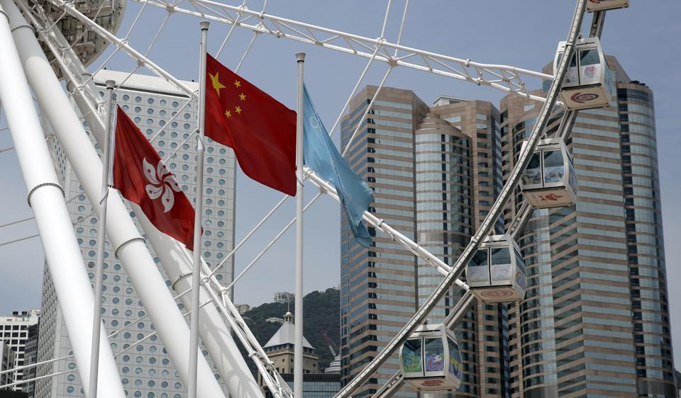 Moody's has cut its credit rating for Hong Kong hours after downgrading China for rising debt levels, which it said would have