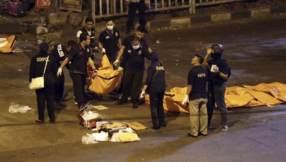 Jakarta bombing,Suicide attacks,Attack in Jakarta