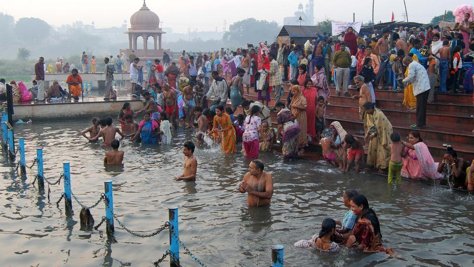 A new CAG report has said the Gomti river in Lucknow is more polluted than the Ganga in Varanasi.