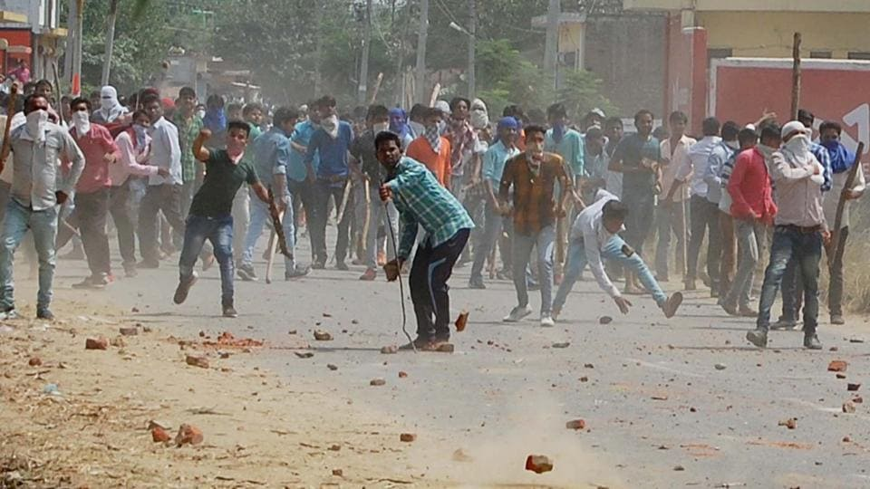 Saharanpur has been tense after recent caste violence.