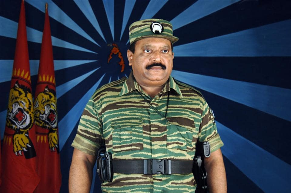 Velupillai Prabhakaran, the leader of the Liberation Tigers of Tamil Eelam (LTTE).