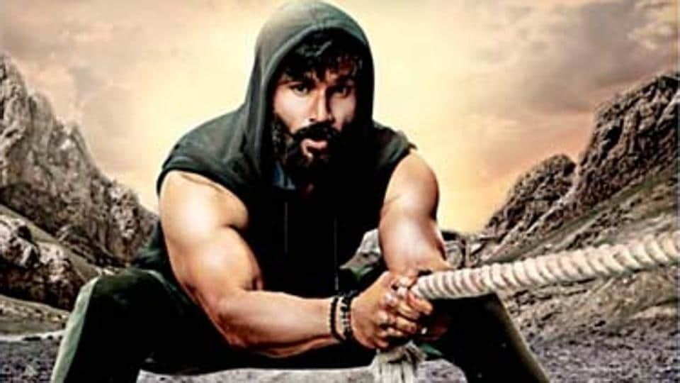 Suniel Shetty's new look for his new TV show.