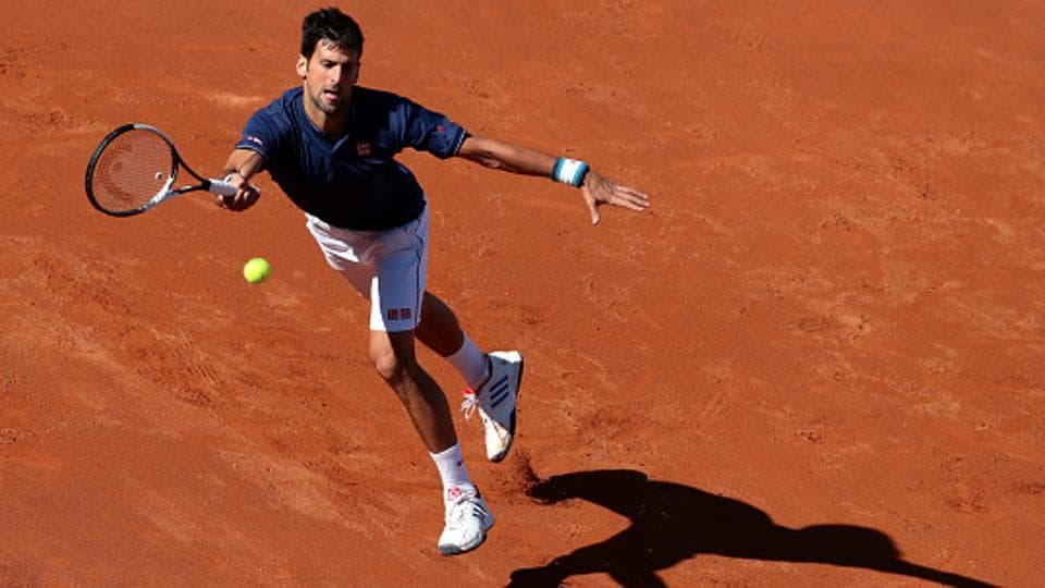 Novak Djokovic, former World No. 1, is the defending French Open champion. He has won a total of 12 Grand Slam titles.  (Getty Images)