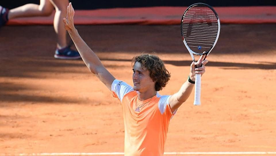 Alexander Zverev will be brimming with confidence in Paris after defeating Novak Djokovic in the 2017 Italian Open final.  (Getty Images)
