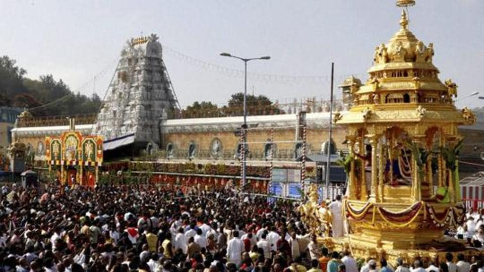 The Venkateshwara temple at Tirumala is India's biggest money-spinner. This Vaishnavite shrine attracts 40 million devotees each year.