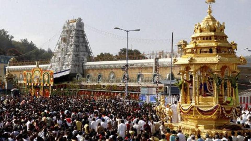 The Venkateshwara temple at Tirumala is India's biggest money-spinner. This Vaishnavite shrine attracts 40 million devotees each year.