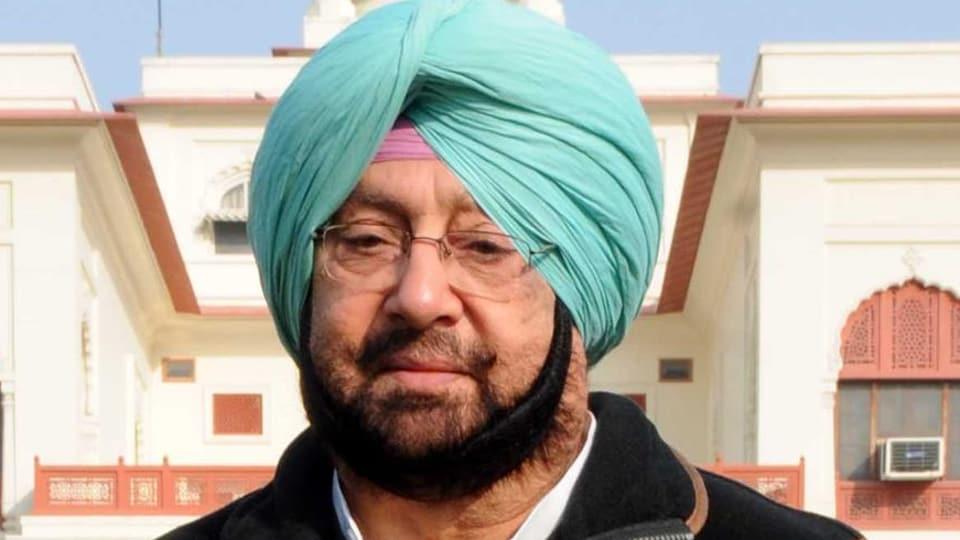 Punjab chief minister Amarinder Singh