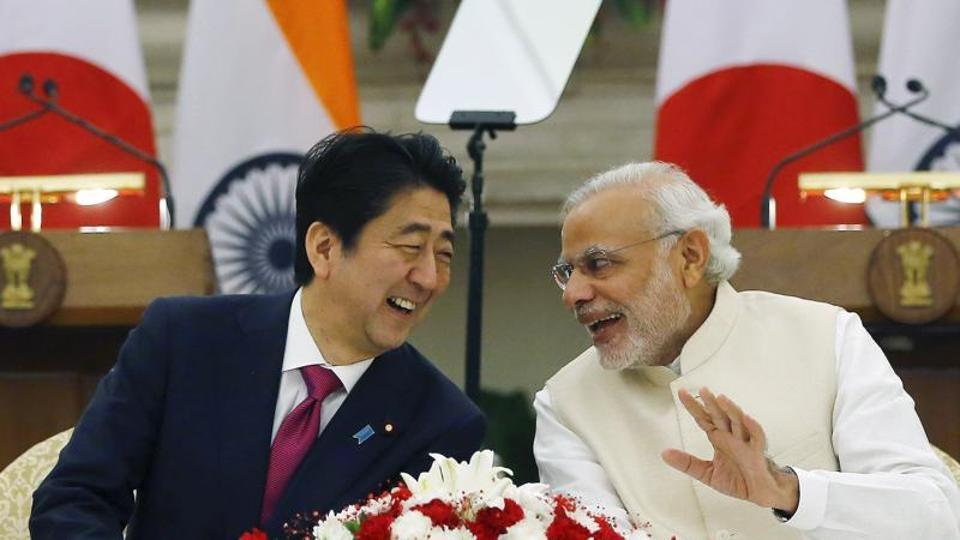 Close ties with Japan, including a civil nuclear deal, is among the wins for Indian diplomacy. Prime Minister Narendra Modi (right) and his Japanese counterpart Shinzo Abe have held a number of high-profile meetings, including two tours to each other's lands.