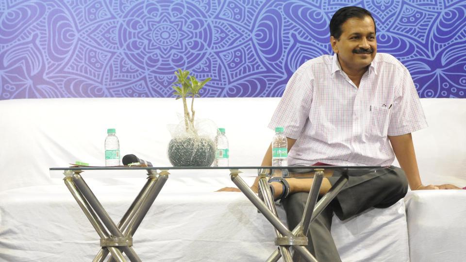 Delhi Chief Minister Arvind Kejriwal. Most of the departments the chief minister has reviewed till now are headed by his cabinet colleague Satyendar Jain.