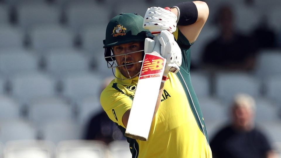 Aaron Finch scored 137 off 109 balls to guide Australia to victory against Sri Lanka.