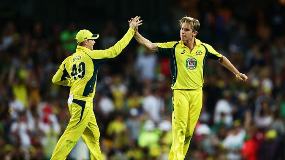 With 30 wickets from 19 games, Adam Zampa (R) was the leading wicket-taker in ODIs in 2016.