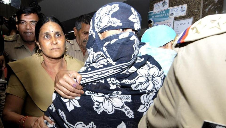 One of the women had earlier given statements that three of the six accused were her neighbours. However, she retracted from her statement on Friday morning giving a clean chit to the three.