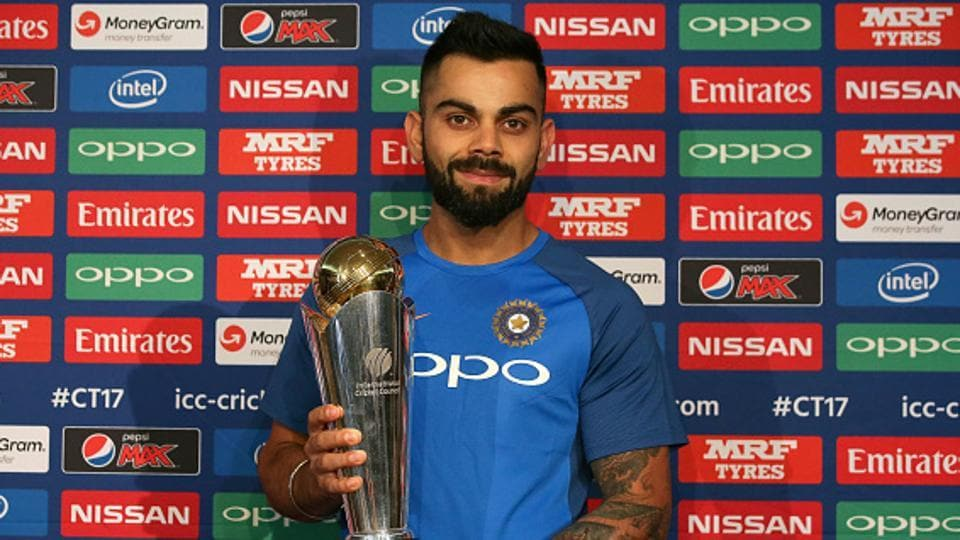 India skipper Virat Kohli is particularly impressed with England's strength in depth and expects the hosts to be ruthless in the ICC Champions Trophy, starting June 1.