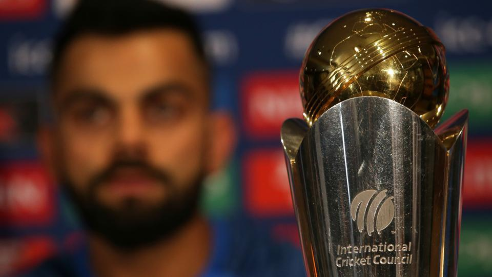 India's cricket captain, Virat Kohli addresses a press conference in London on May 25, 2017, ahead of the ICC Champions Trophy 2017 tournament to be held from June 1-18. Details of live streaming, live scores, results and schedule here.
