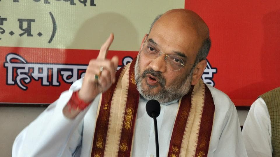 BJP president Amit Shah said it was not possible to provide employment to everyone in the organised sector in a country of 125 crore people.