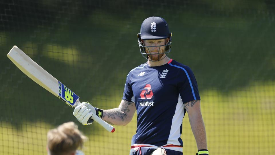 England all-rounder Ben Stokes during nets ahead of the second One-Day International against South Africa on Friday.