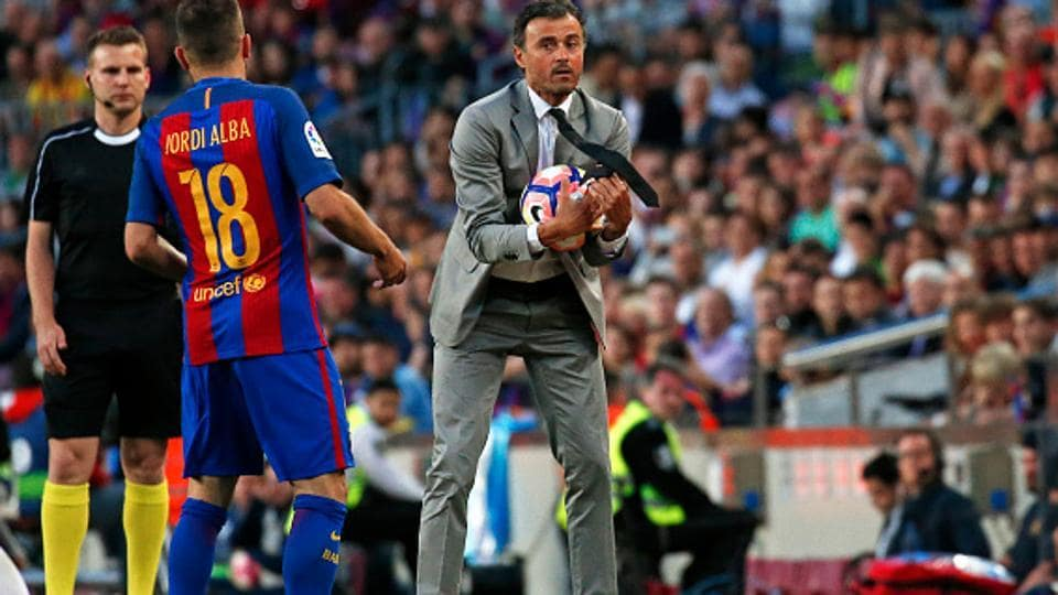 Barcelona 3 Alaves 1: Messi magic secures Luis Enrique parting gift