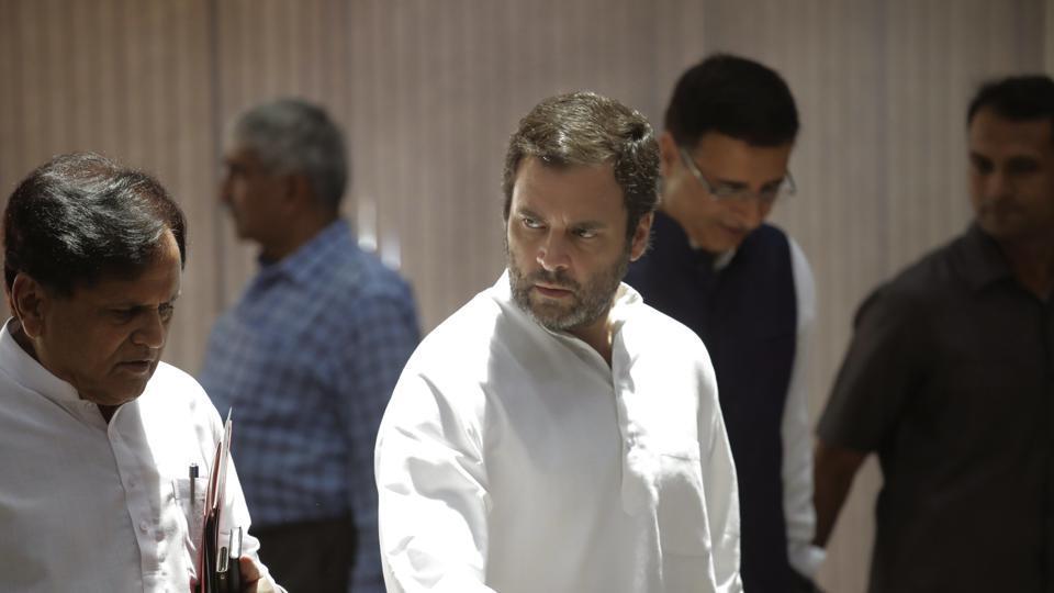 Rahul Gandhi,Congress,Congress President