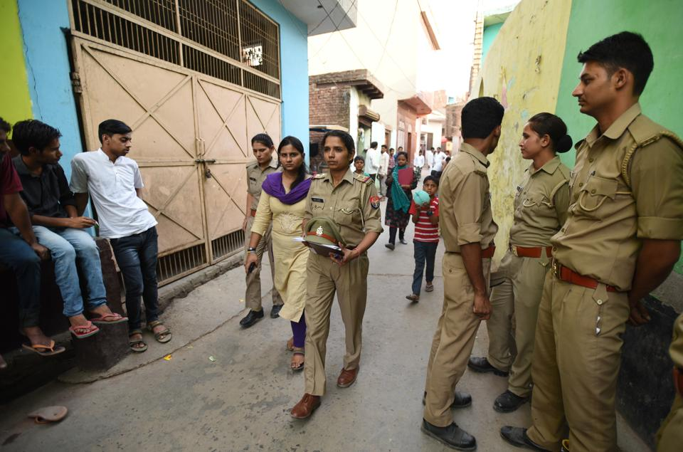 Four women said they were gang-raped during