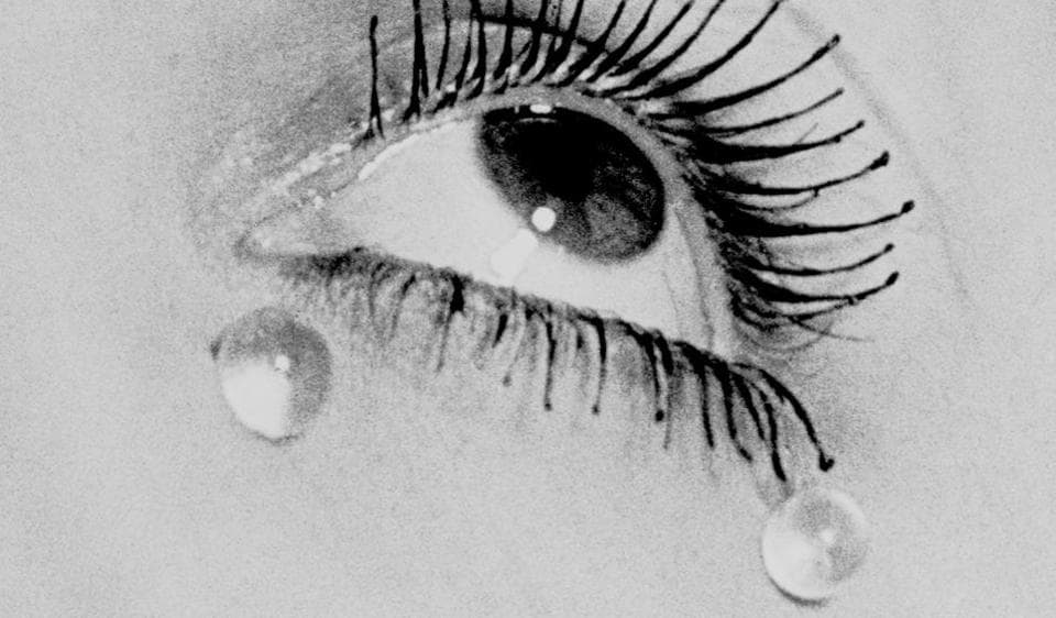 Many of Ray's works might seem like film stills. This is Les Larmes (Glass Tears), shot in 1932.