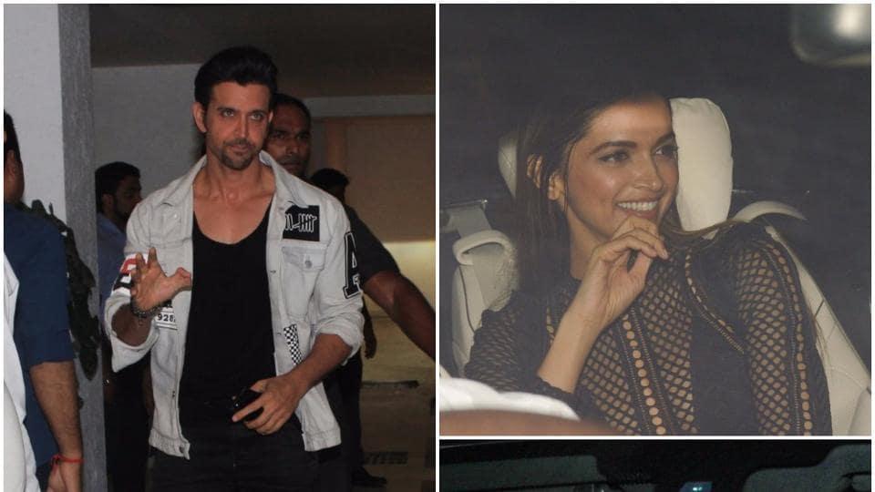 Karan Johar turned 45 on Thursday and the filmmaker had a grand bash at his Khar residence  in Mumbai. In attendance were Bollywood stars Katrina Kaif, Ranbir Kapoor, Deepika Padukone, Hrithik Roshan, Akshay Kumar, among several others