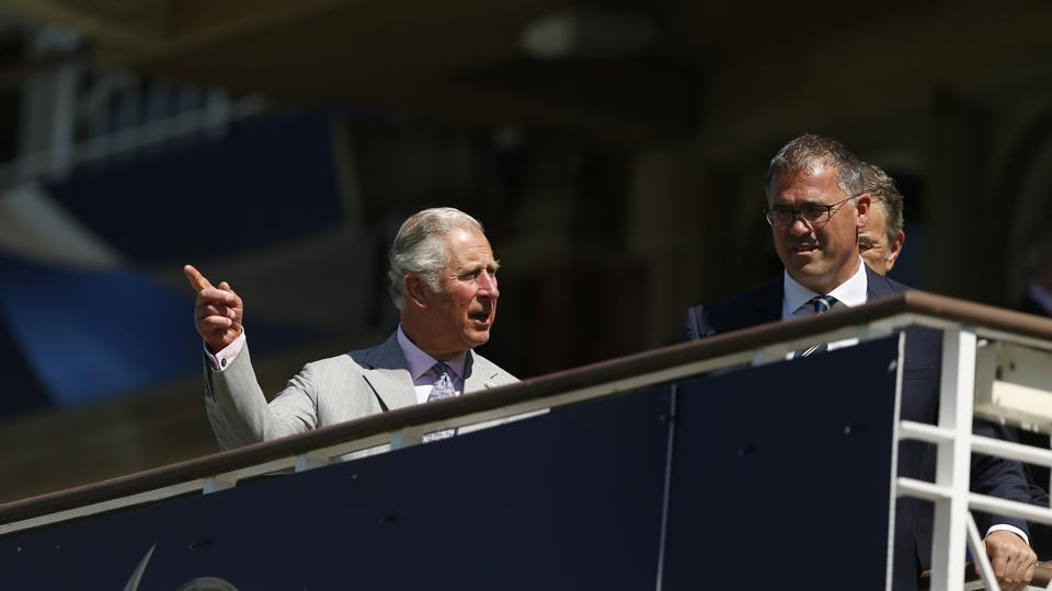 Prince Charles launched the ICC Champions Trophy 2017 with the tournament set to begin on June 1. (REUTERS)