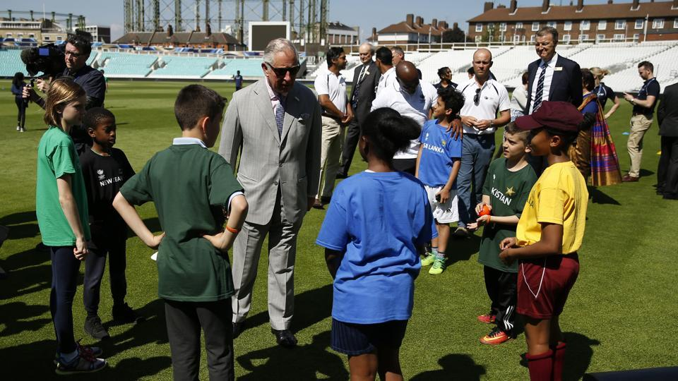Prince Charles soaks in the festive atmosphere as England gear up to host the tournament for the third time. (REUTERS)