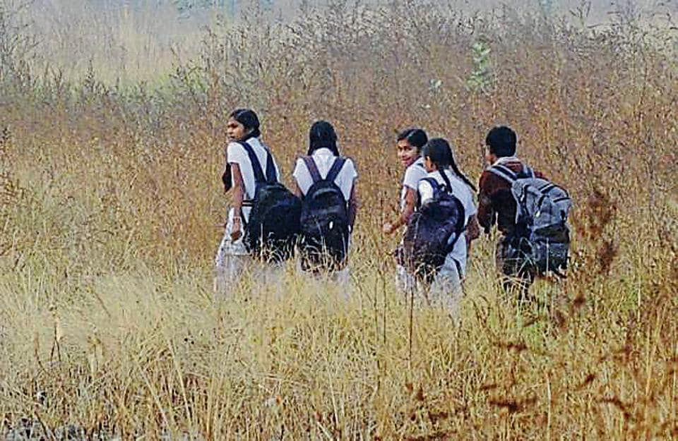 Students of 88gram panchayats in Barmer and Jaisalmer are forced to quit studies as there are no secondary and senior secondary schools.